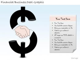 1814 Business Ppt Diagram Financial Business Deal Graphic Powerpoint Template