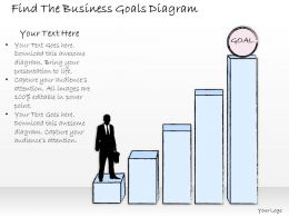 1814_business_ppt_diagram_find_the_business_goals_diagram_powerpoint_template_Slide01