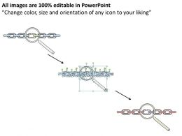 1814 Business Ppt Diagram Find Weak Link Concept Powerpoint Template