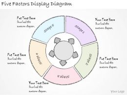 1814_business_ppt_diagram_five_factors_display_diagram_powerpoint_template_Slide01