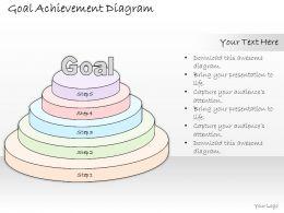 1814_business_ppt_diagram_goal_achievement_diagram_powerpoint_template_Slide01
