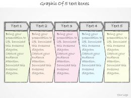1814_business_ppt_diagram_graphic_of_5_text_boxes_powerpoint_template_Slide01