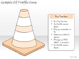 1814 Business Ppt Diagram Graphic Of Traffic Cone Powerpoint Template