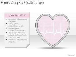1814 Business Ppt Diagram Heart Graphic Medical Icon Powerpoint Template