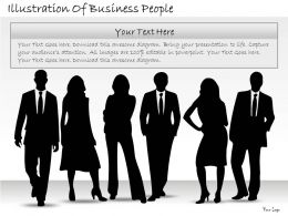 1814 Business Ppt Diagram Illustration Of Business People Powerpoint Template