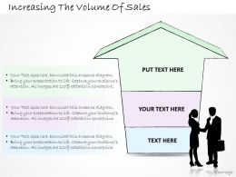 1814 Business Ppt Diagram Increasing The Volume Of Sales Powerpoint Template