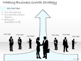1814 Business Ppt Diagram Making Business Growth Strategy Powerpoint Template
