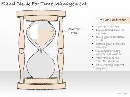1814 Business Ppt Diagram Sand Clock For Time Management Powerpoint Template