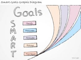 1814 Business Ppt Diagram Smart Goals Graphic Diagram Powerpoint Template