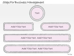 1814 Business Ppt Diagram Steps For Business Management Powerpoint Template