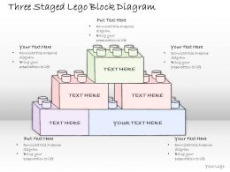 1814_business_ppt_diagram_three_staged_lego_block_diagram_powerpoint_template_Slide01
