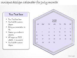 1814_business_ppt_diagram_unique_design_calendar_for_july_month_powerpoint_template_Slide01