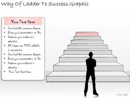 1814 Business Ppt Diagram Way Of Ladder To Success Graphic Powerpoint Template