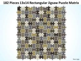 182_pieces_13x14_rectangular_jigsaw_puzzle_matrix_powerpoint_templates_0812_Slide01