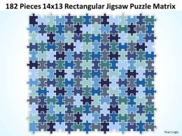 182_pieces_14x13_rectangular_jigsaw_puzzle_matrix_powerpoint_templates_0812_Slide01