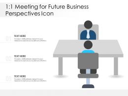 1 1 Meeting For Future Business Perspectives Icon