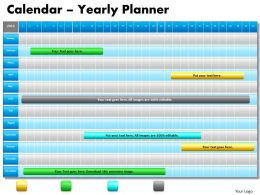 1_year_planning_gantt_chart_powerpoint_slides_gantt_ppt_templates_Slide01