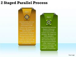 2013 Business Ppt Diagram 2 Staged Parallel Process Powerpoint Template