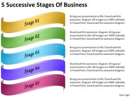 2013_business_ppt_diagram_5_successive_stages_of_business_powerpoint_template_Slide01