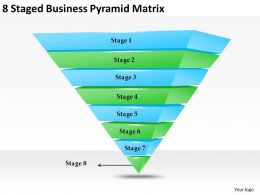 2013_business_ppt_diagram_8_staged_business_pyramid_matrix_powerpoint_template_Slide01
