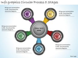 2013_business_ppt_diagram_info_graphics_circular_process_5_stages_powerpoint_template_Slide01