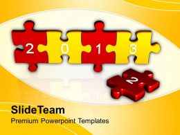 2013 Jigsaw Puzzle Pieces Powerpoint Templates Ppt Themes And Graphics 0213