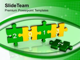 2013 Jigsaw Puzzles Business Concept Powerpoint Templates Ppt Themes And Graphics