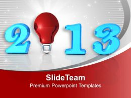 2013 New Year Innovation Business PowerPoint Templates PPT Themes And Graphics