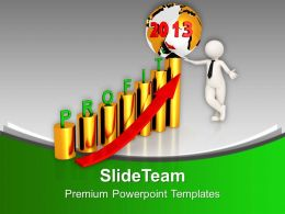 2013 Profit Graph Business PowerPoint Templates PPT Themes And Graphics