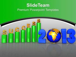 2013 Successful Growth Of Profits In Business PowerPoint Templates PPT Themes And Graphics