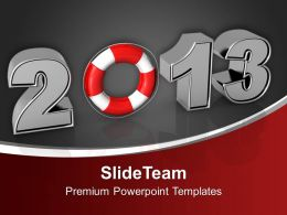 2013 With Lifesaver Business Future PowerPoint Templates PPT Backgrounds For Slides 0113