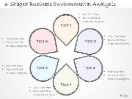 2014 Business Ppt Diagram 6 Staged Business Environmental Analysis Powerpoint Template