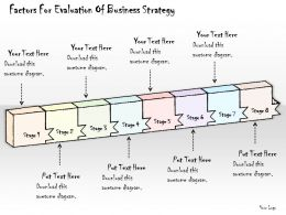 2014 Business Ppt Diagram Factors For Evaluation Of Business Strategy Powerpoint Template