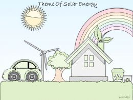 2014 Business Ppt Diagram Theme Of Solar Energy Powerpoint Template