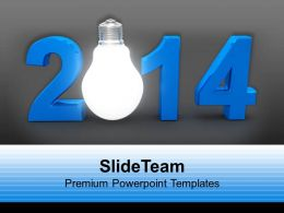 2014 Happy New Year Innovation PowerPoint Templates PPT Backgrounds For Slides 1113