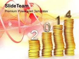 2014 New Year Financial Targets PowerPoint Templates PPT Backgrounds For Slides 1113
