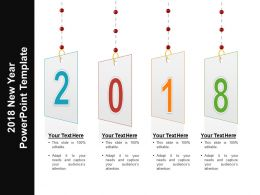 2018 New Year Powerpoint Template