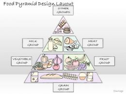2102 Business Ppt Diagram Food Pyramid Design Layout Powerpoint Template