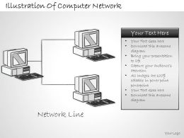 2102 Business Ppt Diagram Illustration Of Computer Network Powerpoint Template