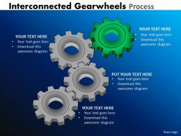 21 Interconnected Gearwheels Process