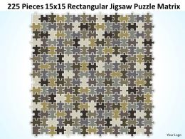 225_pieces_15x15_rectangular_jigsaw_puzzle_matrix_powerpoint_templates_0812_Slide01