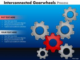 22 Interconnected Gearwheels 18