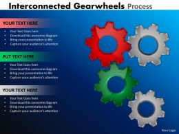 22 Interconnected Gearwheels Process 8