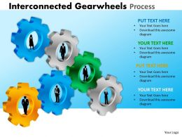23 Interconnected Gearwheels Process 17