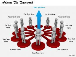 2413 Admire The Teamwork Ppt Graphics Icons Powerpoint