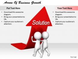 2413 Arrow Of Business Growth Ppt Graphics Icons Powerpoint