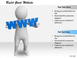 2413 Build Good Website Ppt Graphics Icons Powerpoint
