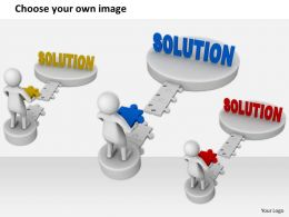 2413 Build The Gap Of Solution Ppt Graphics Icons Powerpoint