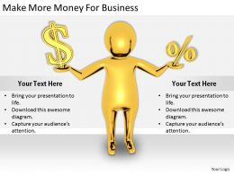 2413 Business Ppt Diagram Make More Money For Business Powerpoint Template