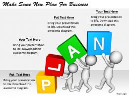 2413 Business Ppt Diagram Make Some New Plan For Business Powerpoint Template